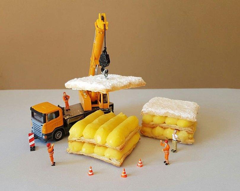 dessert miniatures pastry chef matteo stucchi 8 - Chef italiano transforma sobremesas em mundos em miniatura