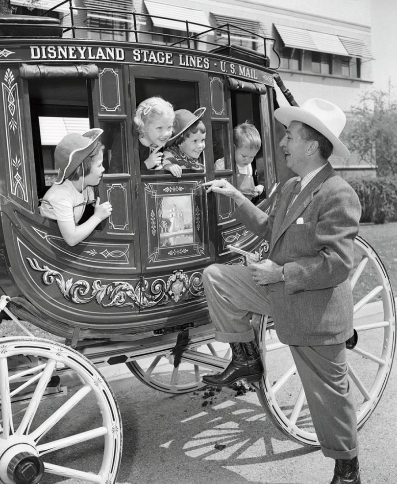 disneyland opening day 1955 13 - Dia de abertura da Disneylândia em 1955