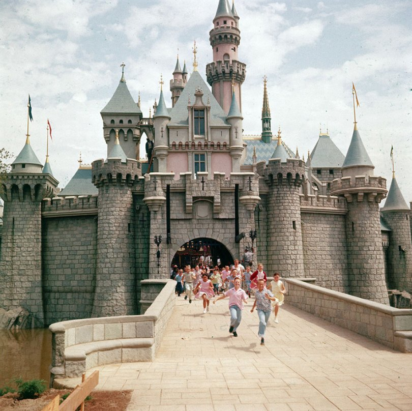 disneyland opening day 1955 15 - Dia de abertura da Disneylândia em 1955