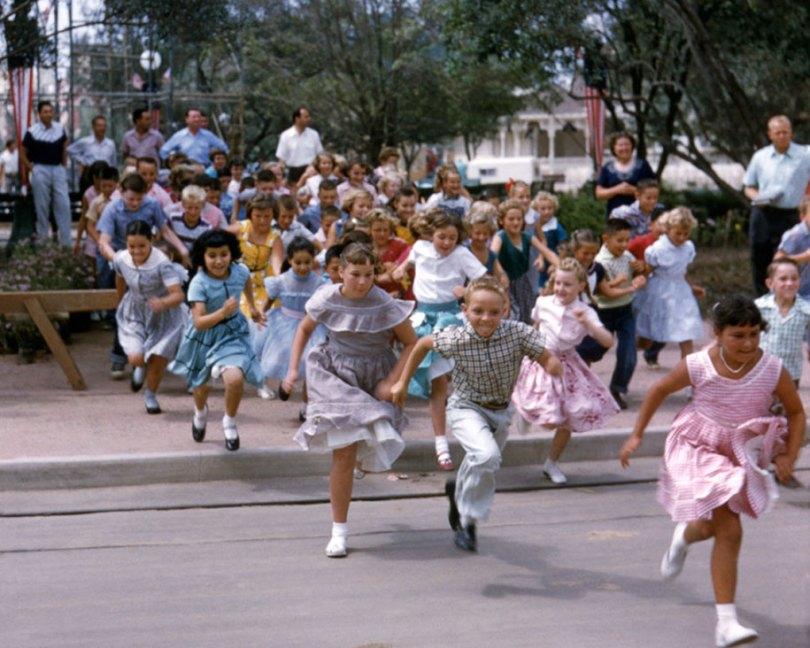disneyland opening day 1955 20 - Dia de abertura da Disneylândia em 1955
