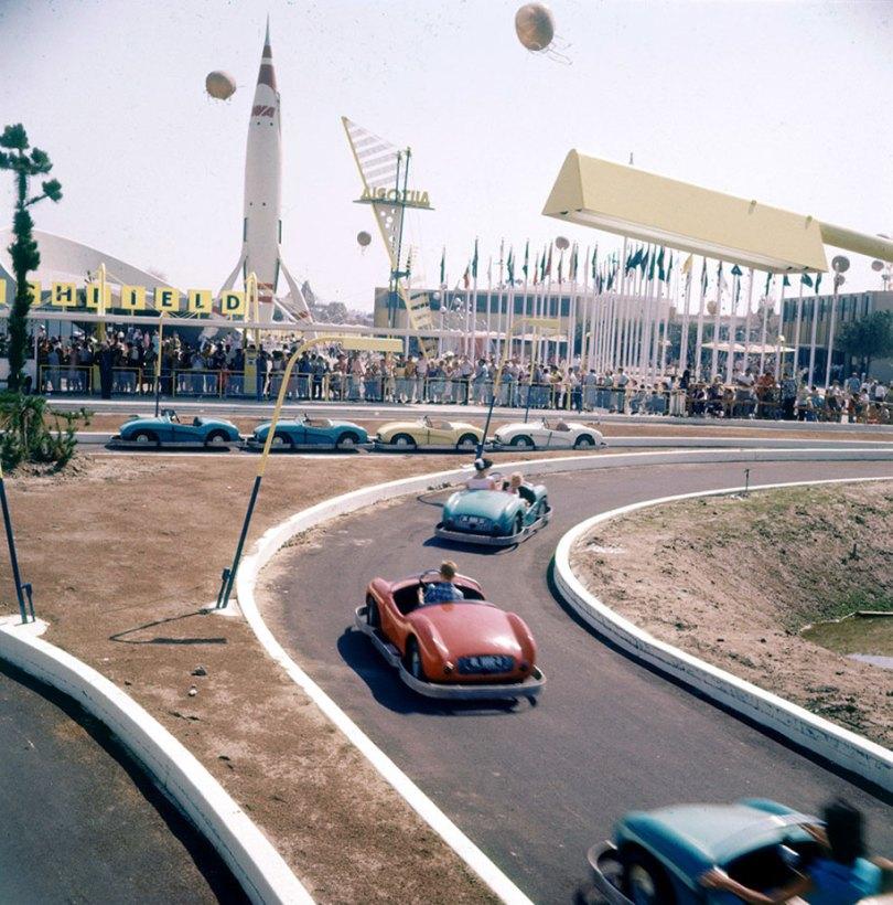 disneyland opening day 1955 22 - Dia de abertura da Disneylândia em 1955