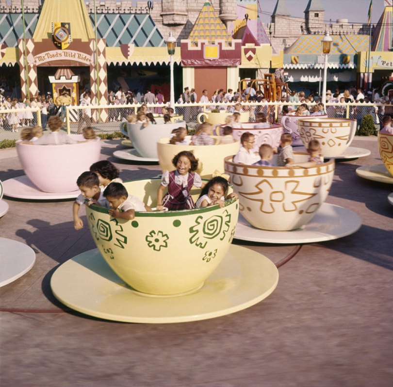 disneyland opening day 1955 5 - Dia de abertura da Disneylândia em 1955