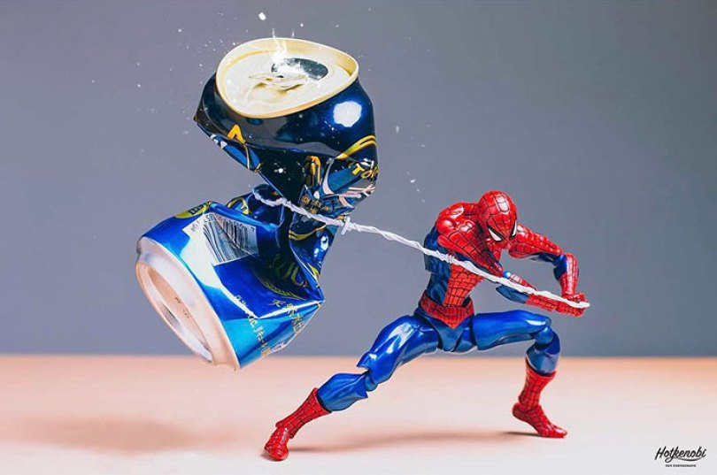 action toys scenes hotkenobi 4 - Brinquedos de ação ganham vida em imagens