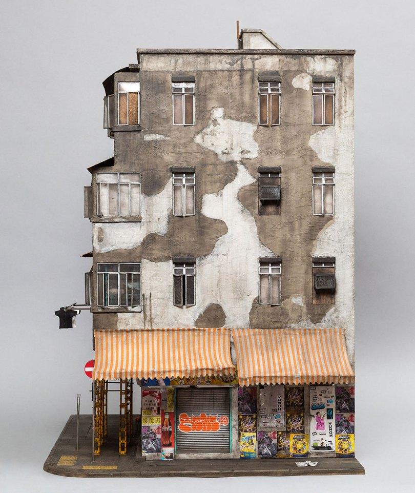 gritty urban miniature cities joshua smith 35 - Cidade em miniatura urbana em detalhes