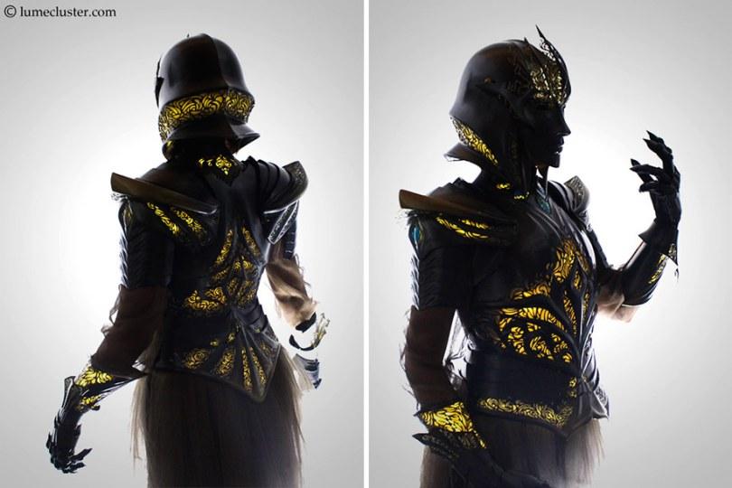 3d printed fantasy armor cosplay melissa ng 7 - Fantasia de armadura feito em 3D é o sonho de todo cosplay