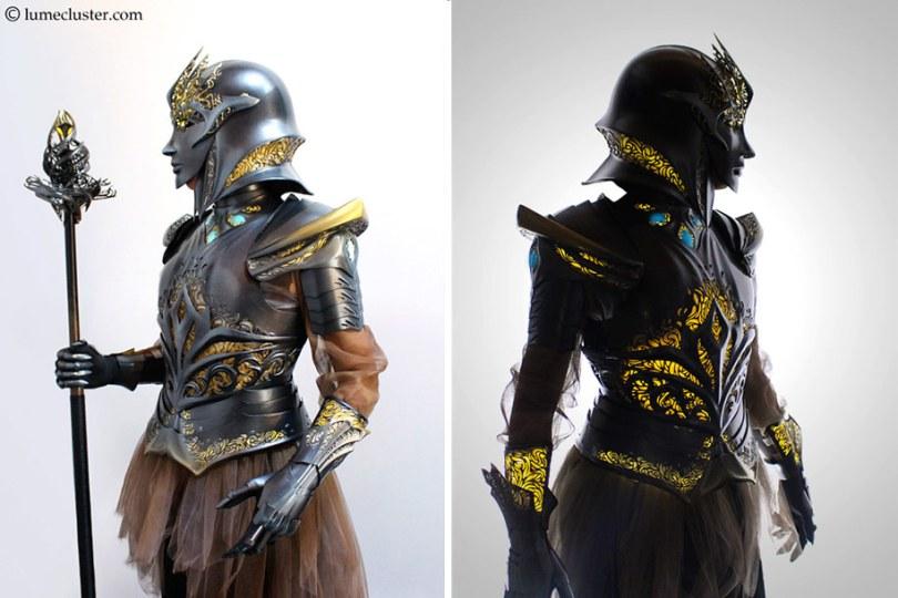 3d printed fantasy armor cosplay melissa ng 9 - Fantasia de armadura feito em 3D é o sonho de todo cosplay