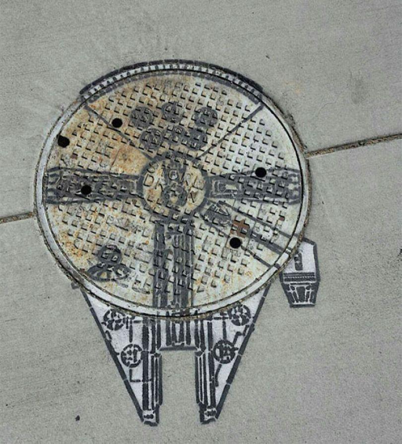 5978805a8f477 creative street art positive vandalism 3 596f657454947  700 - Coisas hilárias captadas em fotos