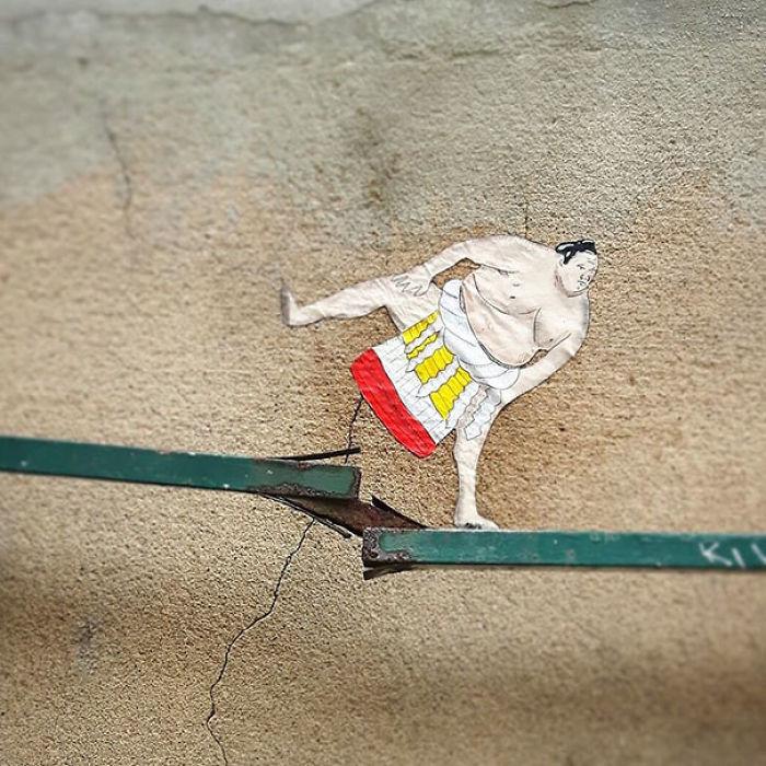 5978805adba77 creative street art positive vandalism 22 59704e722ab65  700 - Coisas hilárias captadas em fotos