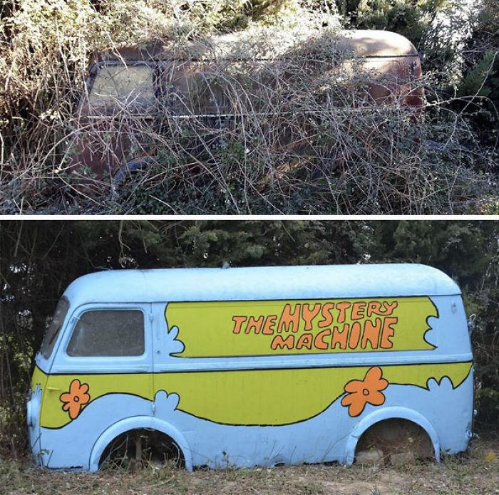 5978805c23b95 creative street art positive vandalism 18 59704c13abfc7  700 - Coisas hilárias captadas em fotos