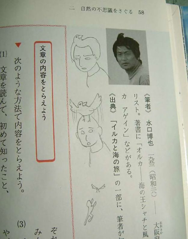 599c34770678b-funny-textbook-drawings-1-599a956a31038__700 10+ Examples Of Brilliant Textbook Vandalism When Bored Students Couldn't Stop Their Creativity Random