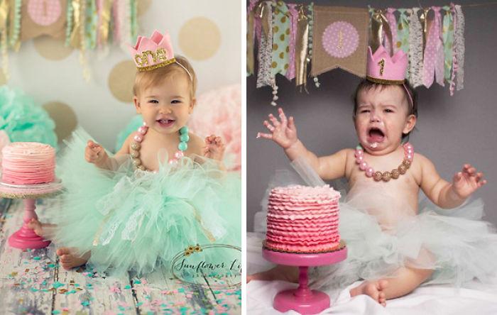 59e0b2837927d baby photoshoot expectations vs reality pinterest fails 24 577f91f4865f2  700 - Tirar foto de bebê não é nenhum pouco fácil