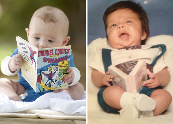 59e0b2858512d baby photoshoot expectations vs reality pinterest fails 27 577f9d1b47934  700 - Tirar foto de bebê não é nenhum pouco fácil