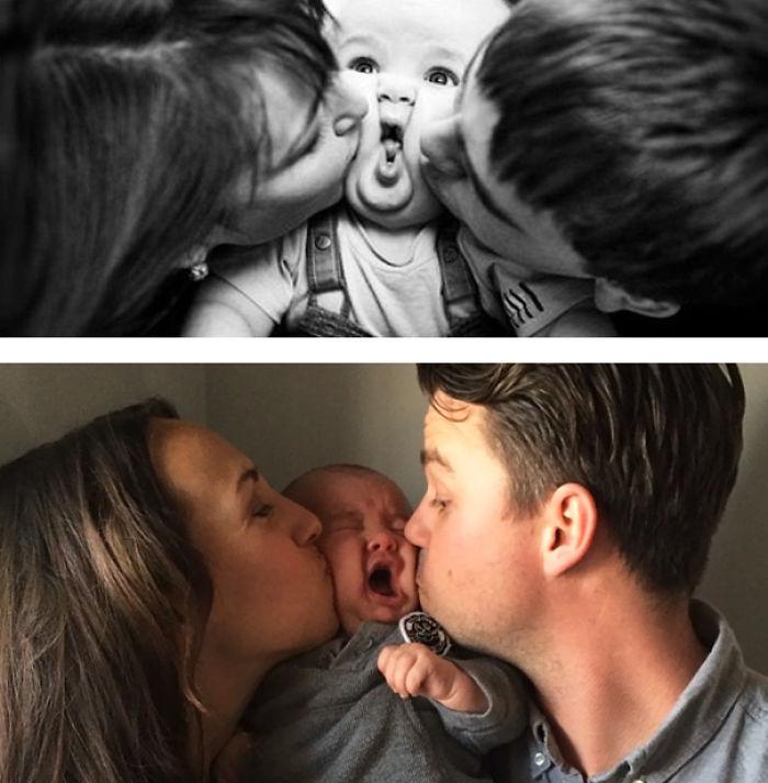 59e0b287e246b baby photoshoot expectations vs reality pinterest fails 23 577f8ef7d4e03  700 - Tirar foto de bebê não é nenhum pouco fácil