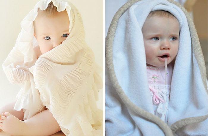 59e0b2892495b baby photoshoot expectations vs reality pinterest fails 28 577fa39901cc5  700 - Tirar foto de bebê não é nenhum pouco fácil