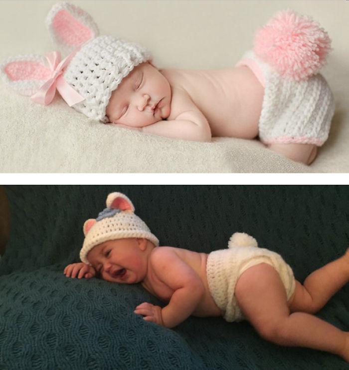 59e0b2926bc18 baby photoshoot expectations vs reality pinterest fails 25 577f9678847dd  700 - Tirar foto de bebê não é nenhum pouco fácil