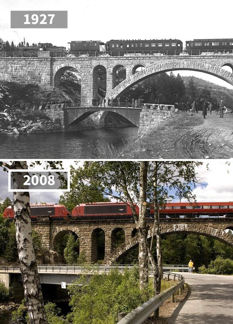 5a0eab5885b14 then and now pictures changing world rephotos 46 5a0d69a23d7b8  700 - A transformação das cidades ao longo do tempo