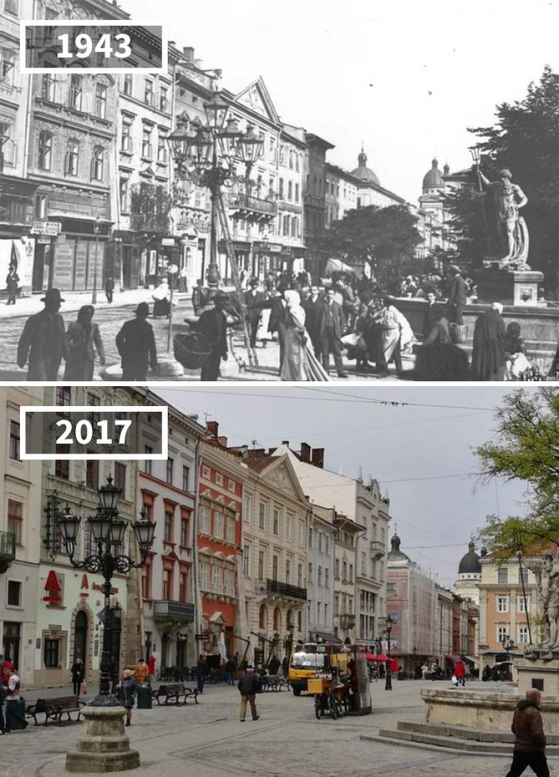 5a0eab5d06590 then and now pictures changing world rephotos 35 5a0d6d7091fb4  700 - A transformação das cidades ao longo do tempo