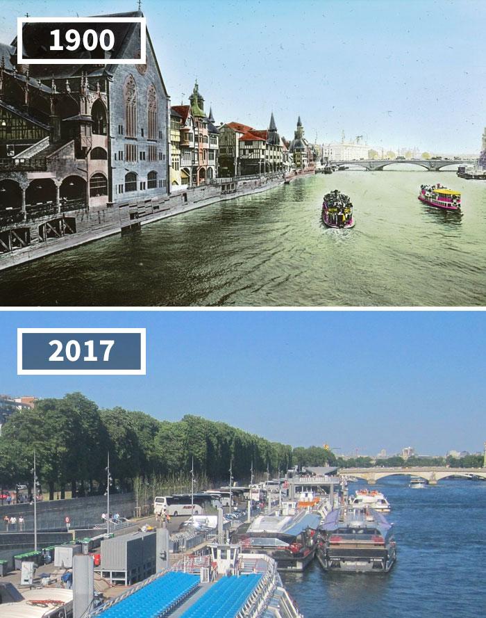 5a0eab6294eef then and now pictures changing world rephotos 112 5a0d812a1178a  700 - A transformação das cidades ao longo do tempo