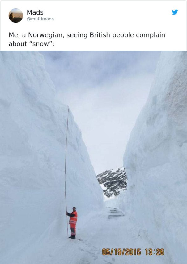 5a9d483ba6220-snow-uk-panic-twitter-reactions-4-5a994e63189b9__700 Internet Reacts To Brits Panicking Over A Little Snow In A Very Creative Way Random