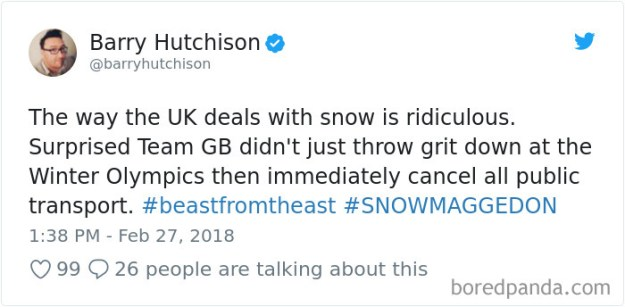 5a9d4841a3f87-968480577505628160-png__700 Internet Reacts To Brits Panicking Over A Little Snow In A Very Creative Way Random
