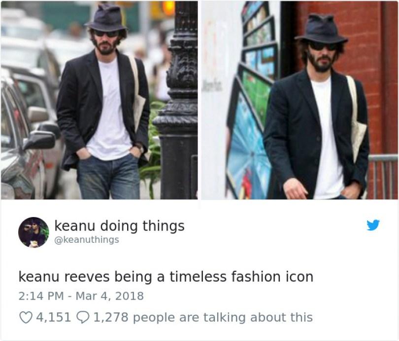 5abe1c0b9615e 970301431956885504 png  700 5abc9f3e75ddc  700 - Por que Keanu Reeves tímido e introvertido é tão popular na Internet?