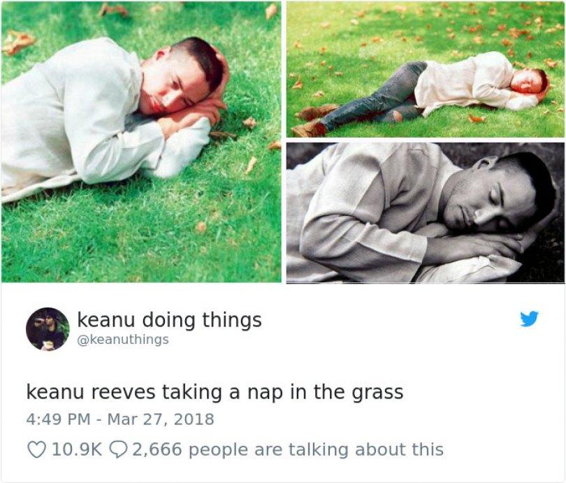 5abe1c0cc78b5 978675285892714502 png  700 5abc9e1438420  700 - Por que Keanu Reeves tímido e introvertido é tão popular na Internet?