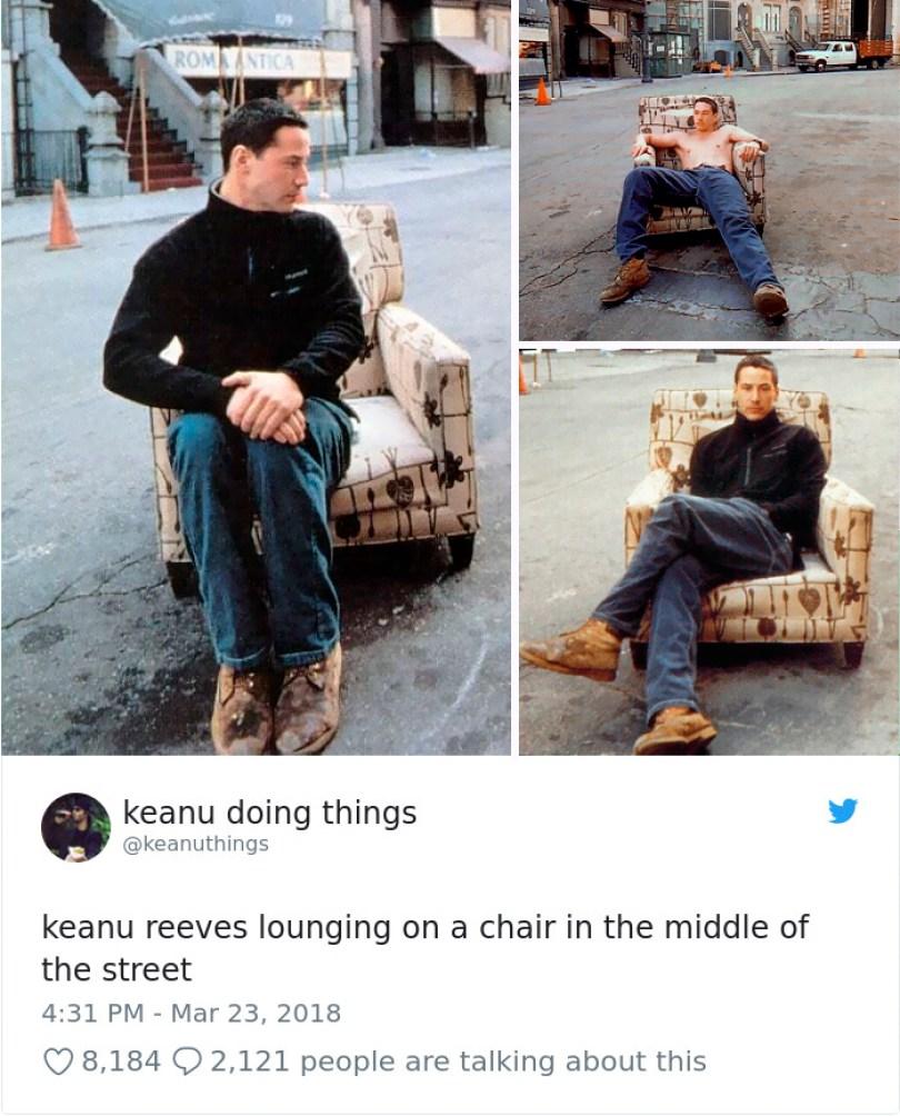 5abe1c0d0409b 977221190304624640 1 png  700 5abc94a820e31  700 - Por que Keanu Reeves tímido e introvertido é tão popular na Internet?