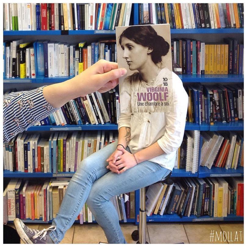 librairie mollat 17931839 1279601405456652 672287889358323712 n - Funcionários entediados de livraria se divertem com capa de livros