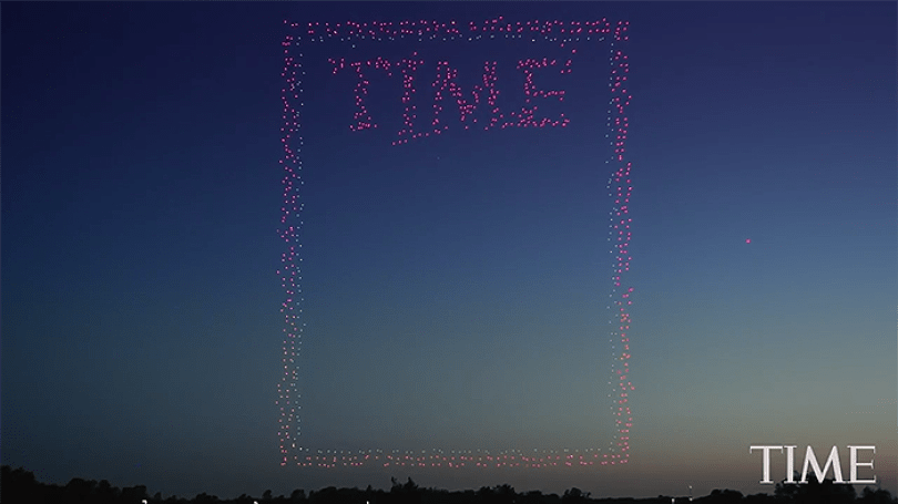 photoshoot time cover drones 1 - Relembre a capa da Revista TIME sobre drones