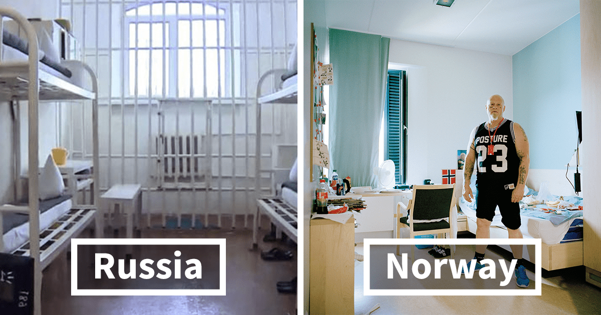 20 Photos Revealing What Prison Cells Look Around The