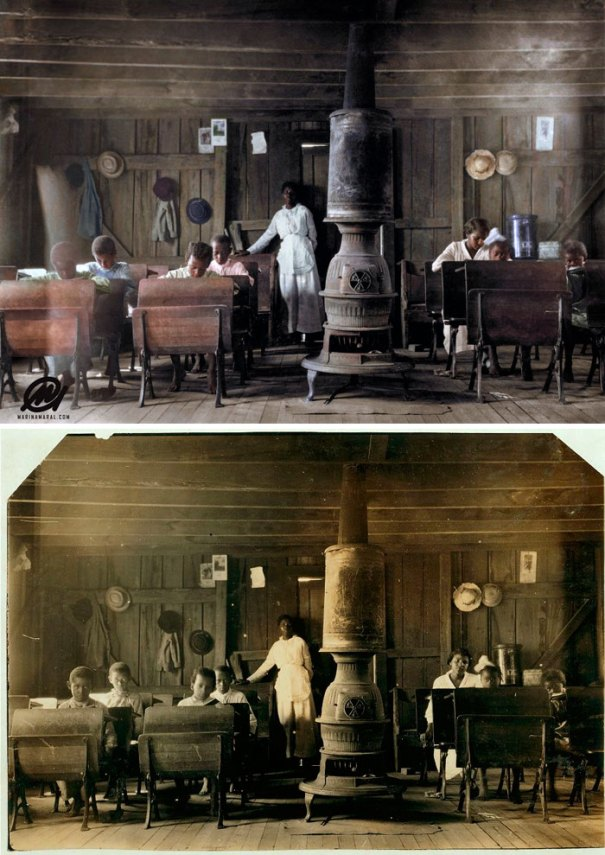 5b6d3b6e5b2a5-colorized-historic-photos-marina-amaral-4-5b6ace1ec6b21__700 This Artist Colorizes Old Black & White Photos, And They Will Change The Way People Imagine History Photography Random