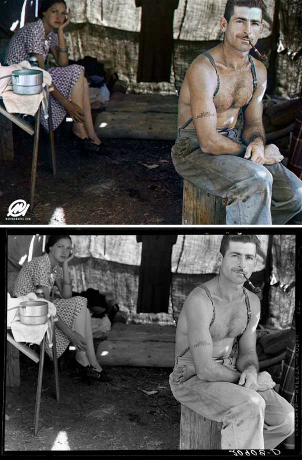 5b6d3b72b482d-colorized-historic-photos-marina-amaral-37-5b6acff2e207c__700 This Artist Colorizes Old Black & White Photos, And They Will Change The Way People Imagine History Photography Random