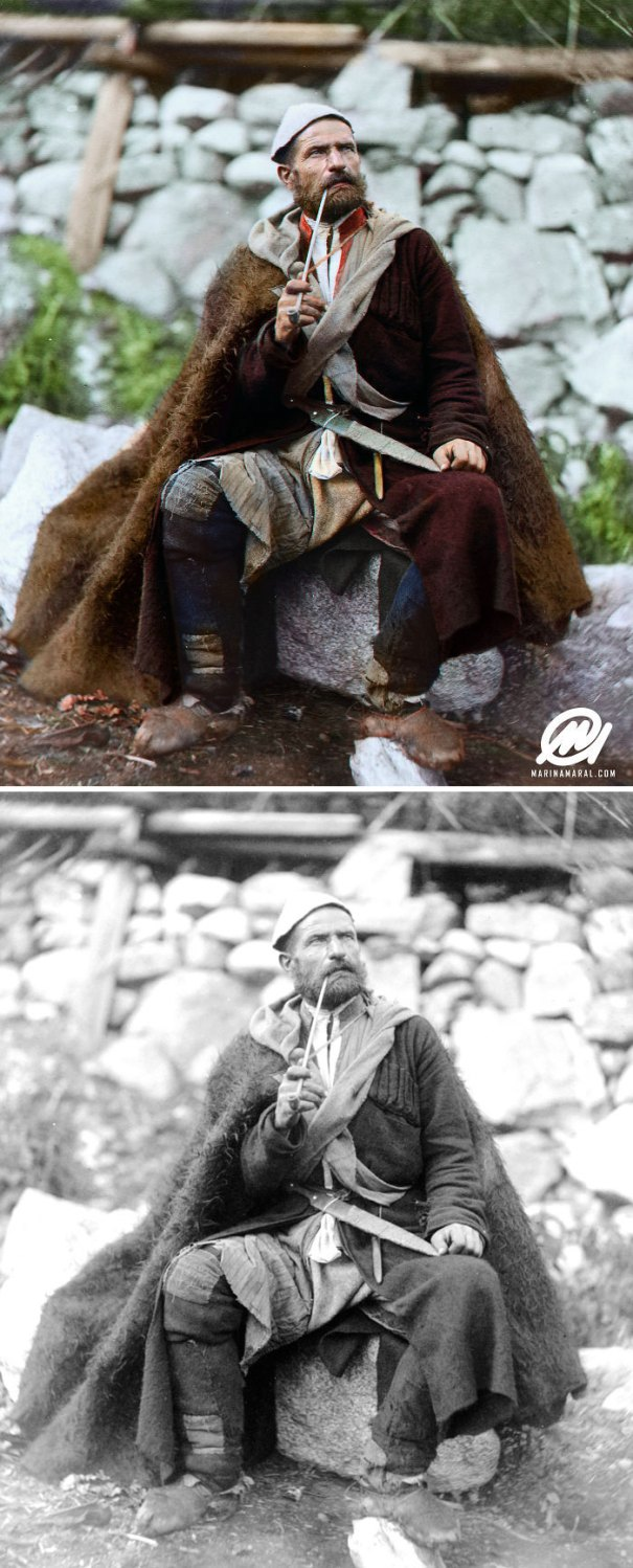 5b6d3b7eced02-colorized-historic-photos-marina-amaral-121-5b6c3f546ea53__700 This Artist Colorizes Old Black & White Photos, And They Will Change The Way People Imagine History Photography Random