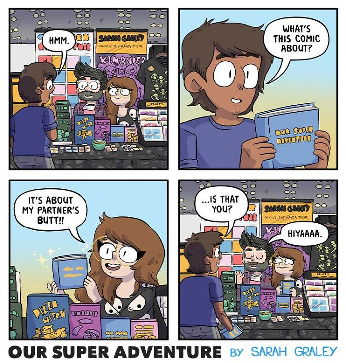 5b6d3bcb884bc-relationship-comics-boyfriend-cats-sarah-graley-illustration-5b6ae6a2d1cf8__700 Artist Creates Hilarious Comics Illustrating Her Daily Adventures With Her Fiancé And Her Four Cats Random