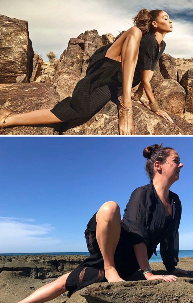 5b865061b07ad-Woman-continues-to-amuse-people-by-imitating-celebribidades-and-we-do-not-tire-of-seeing-5b83c4a84ceef__700 Woman Continues To Recreate Celebrity Instagram Pics, And The Result Is Better Than The Original (New Pics) Random