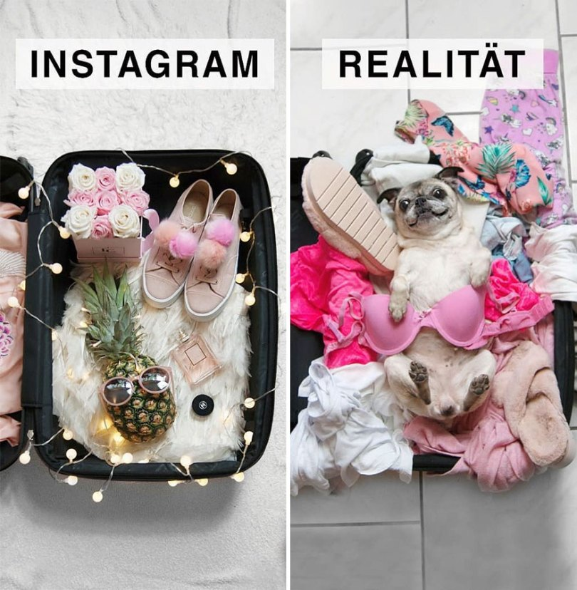 5b976d97ae299 German shows the reality of perfect instagram photos and the result is a lot of fun 5b8e3401121ad  880 - Instagram: Expectativa x Realidade