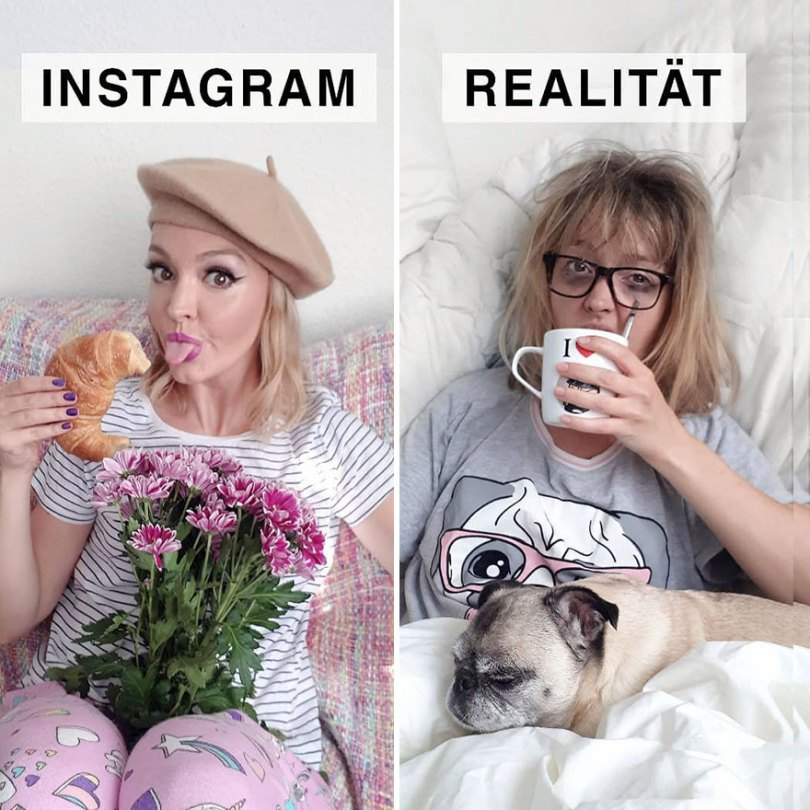 5b976d9bd545f German shows the reality of perfect instagram photos and the result is a lot of fun 5b8e340323226  880 - Instagram: Expectativa x Realidade # Parte 2