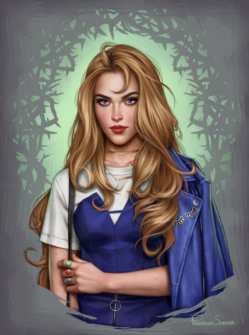 5bb6136139f01 Illustrator Shows How Disney Princesses Would Look Like If They Lived In 2018 And The Result Is Awesome 5bb32649c2dab  700 - Illustratora mostra como os personagens da Disney ficariam se vivessem em 2019