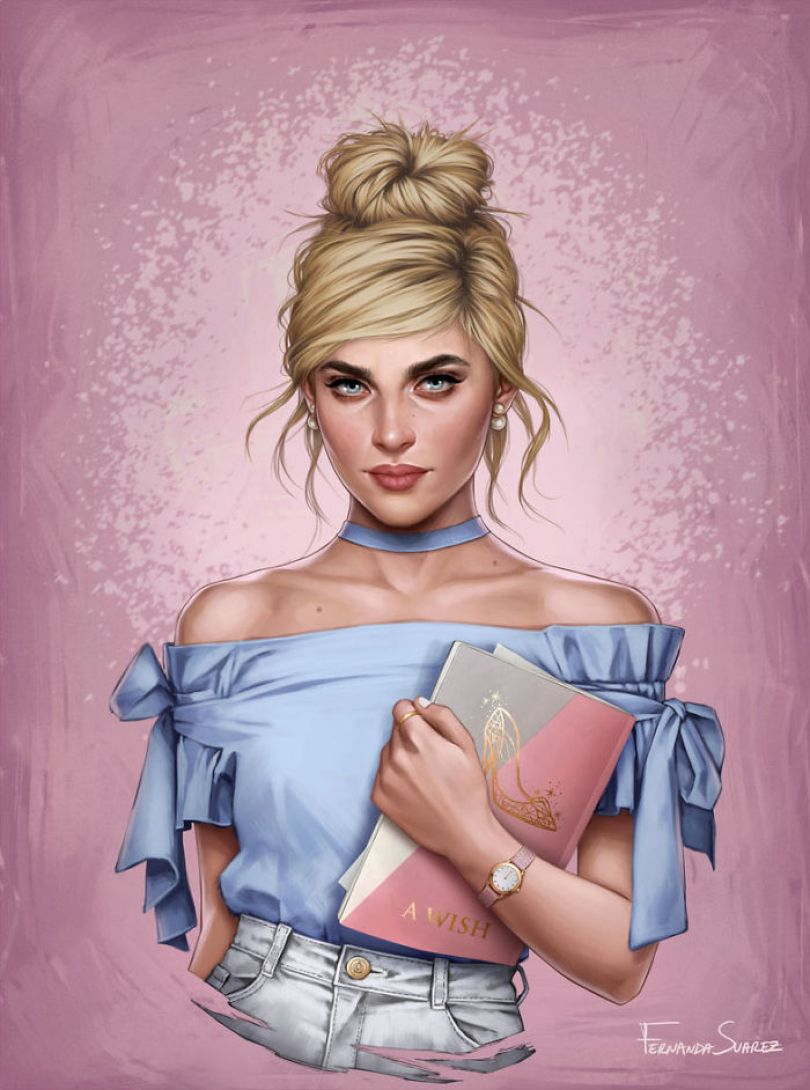 5bb61362a0d16 Illustrator Shows How Disney Princesses Would Look Like If They Lived In 2018 And The Result Is Awesome 5bb3264e1bde3  700 - Illustratora mostra como os personagens da Disney ficariam se vivessem em 2019