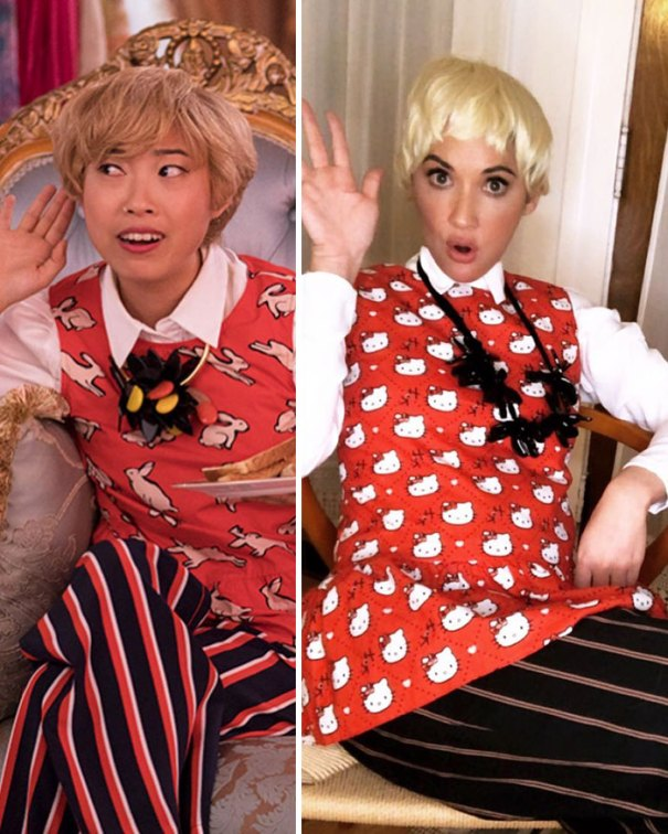 5be0554be06d4-best-celebrity-halloween-costumes-2018-6-5bdc04f77089c__700 30+ Celebrities Who Completely Nailed This Year's Halloween Random