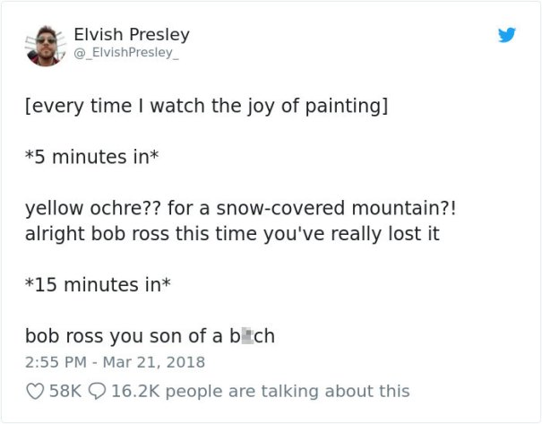 5be3fb3b70943-976472287871426560-1-png__700-5be2e7070e4c5__700 25+ Bob Ross Memes That Show He Truly Was The Best Art Random