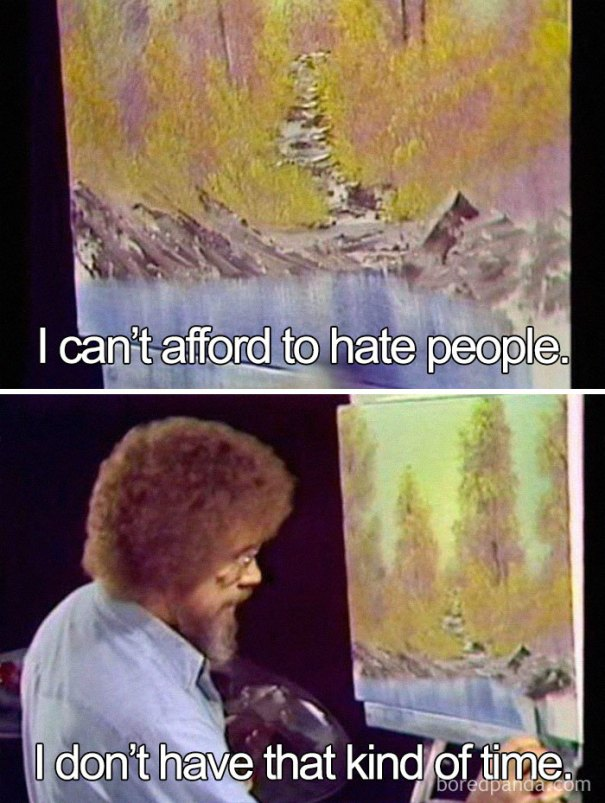 5be3fb3d2ea39-sdsdsds-5be2d2ec1fe4f__700 25+ Bob Ross Memes That Show He Truly Was The Best Art Random