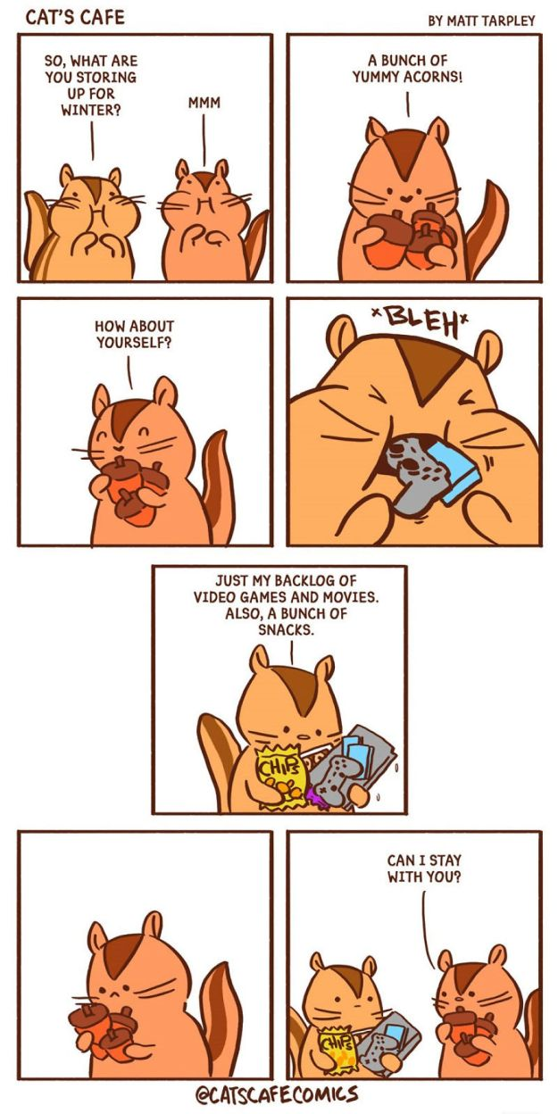 5bf6705c810d4-A-Cats-Caf-for-Everyone-5bf3deaa0b417__880 47 Wholesome 'Cat's Cafe' Comics That Will Brighten Your Day Random