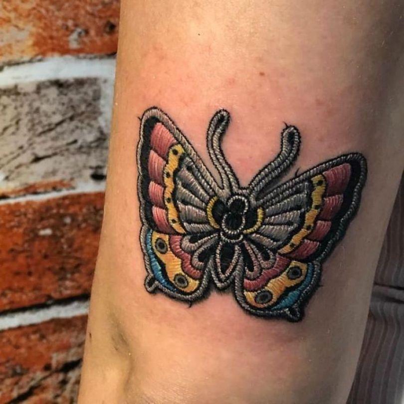 """5cab0303d9a6b Bvo YXqnXRN png  700 - 30 tatuagens em estilo """"bordado"""" são lindas e intrigantes"""