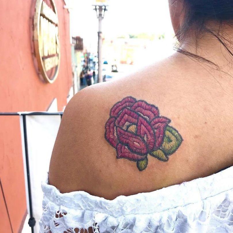 """5cab03040be49 BumOKgqhWCU png  700 - 30 tatuagens em estilo """"bordado"""" são lindas e intrigantes"""