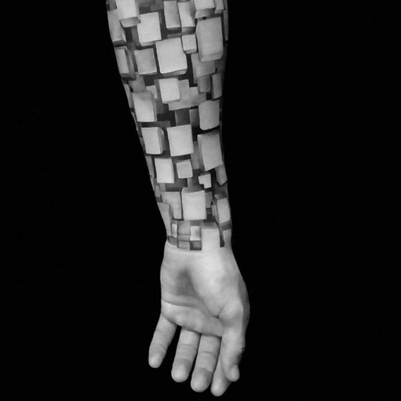 5caef3b8f0a48 3d tattoo ideas 68 5ca1df8871b72  700 - 56  Tatuagens em 3D que irão bagunçar sua mente