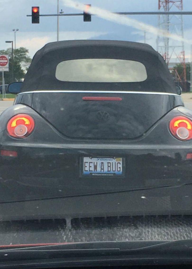 5cb04550a3924 funny license plates 33 5c9e19b13e283  700 - Placa de carro: Curiosidades sobre emplacamentos de carros criativos e engraçados