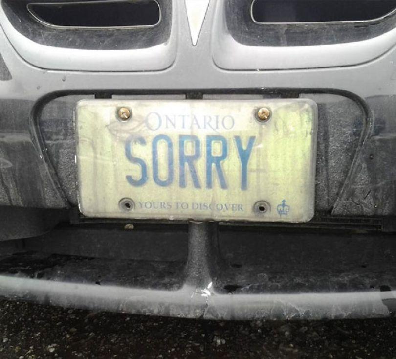 5cb04553bf0a7 funny license plates 28 5c9df97d1172b 700 - Placa de carro: Curiosidades sobre emplacamentos de carros criativos e engraçados