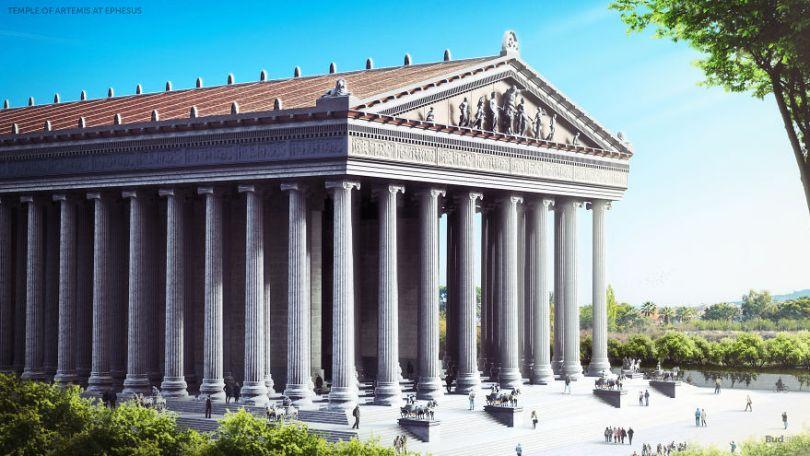 5ccff210ecd30 07 Seven Wonders Ephesus 5cc7ad16031d0  880 - 7 Imagens Impressionantes das Maravilhas do Mundo Antigo em seu auge