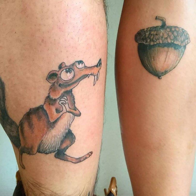 5cee3cdd2f784 matching tattoo ideas 17 5ce53e6bc29ef  700 - 30 criativas tatuagens conectadas entre pessoas